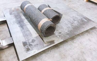 Antivibrationsfundament für Maschinen