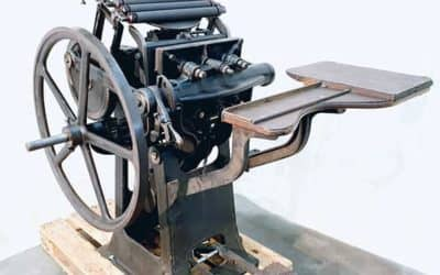 Historical Foot Pedal Platen DIAMANT