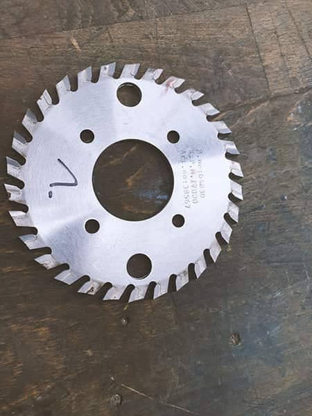 Milling cutter for Horizon Perfect Binder BQ260