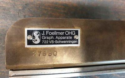 Foellmer Punching Tool